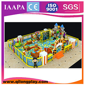 2016 New Customized Good Quantity Indoor Palyground, Wenzhou Hot Sale Playground with Trampoline pictures & photos
