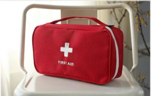 Resuable Handle Emergency Kit First Aid Bag for Medication pictures & photos