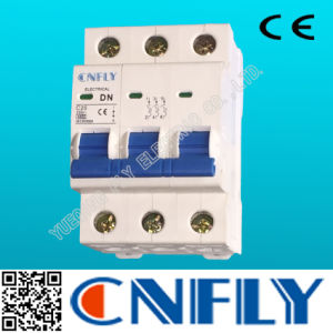 Dz47 Type 3pole MCB 25A Mini Circuit Breaker