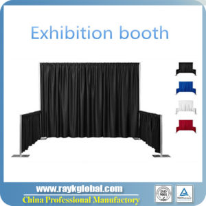 Wedding Backdrop Exhibition Stand Pipe and Drape pictures & photos