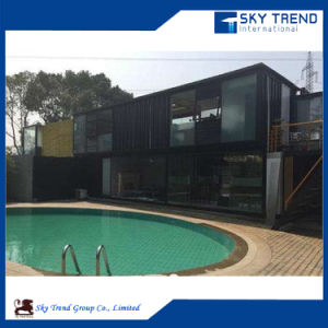 Container House Beside Swimming Pool and Bar pictures & photos