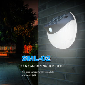 Waterproof Indoor Solar LED Night Sensor Light with PIR pictures & photos