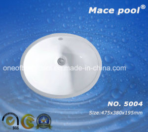 Sanitary Ware Bathroom Ceramic Washing Basin (5004) pictures & photos