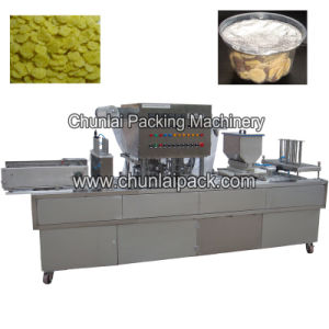 Cornflakes Cup Filling and Sealing Machine pictures & photos