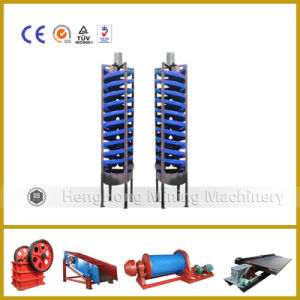 Gold Washing separator Gravity Beneficiation Spirral Chute