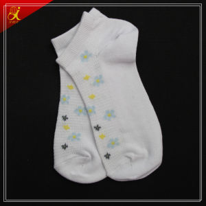 OEM Young Pretty Organic Cotton Yarn Socks pictures & photos