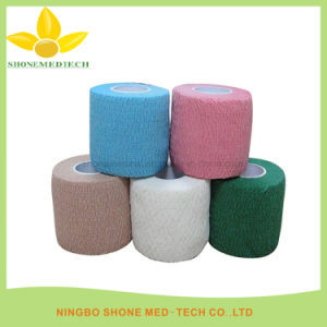 Various Colors Medical Self Adhesive Bandage pictures & photos