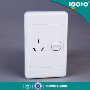 Cheaper Goods From China Double Powerpoint Socket pictures & photos