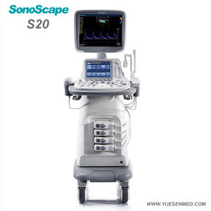 Medical Trolley 4D Color Doppler Sonoscape S20 pictures & photos