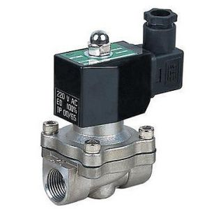 2wb Stainless Steel 2 Inch Water Solenoid Valve 24V 220V pictures & photos
