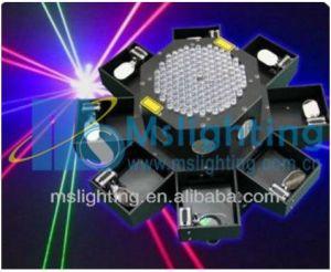 1.5W RGB Big Power Laser LED Light 8 Fish Light Stage Laser Light pictures & photos