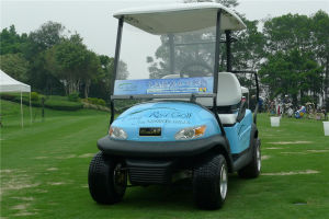 Aluminium Chassis 2 Seater Electric Golf Buggy for Golf Course pictures & photos