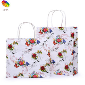 2016 Custom Luxury Paper Shopping Gift Bag with Logo pictures & photos
