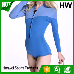 OEM Neoprene Triathlon Diving Wetsuit for Lady pictures & photos