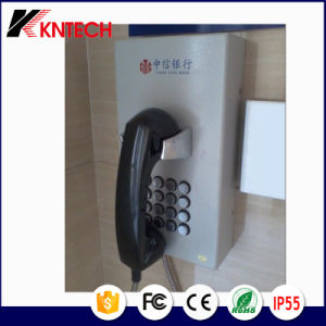 Bank Telephone Knzd-05 Koontech Public Service Telephone with LCD Display pictures & photos