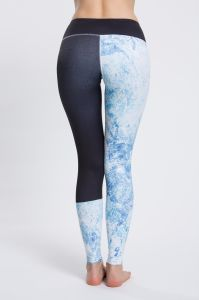 Sublimated Colorful High Quality Pants Sports Tights Leggings with Phone Pocket for Ladies pictures & photos