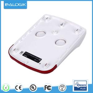Wireless Siren Alarm with Red Flash Strobe Light (ZW15B) pictures & photos