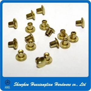 Brass/Aluminum/Steel Semi-Tubular Rivet pictures & photos