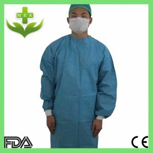 Factory Medical Disposable PP Non Woven Doctor Gown pictures & photos
