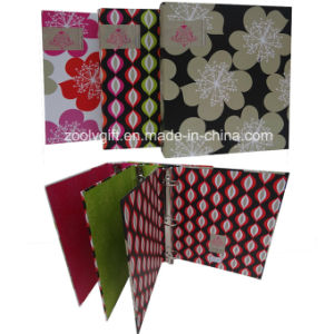 "1"" Geometric Design Printing Paper Board 3 Ring Binder File Folder pictures & photos"
