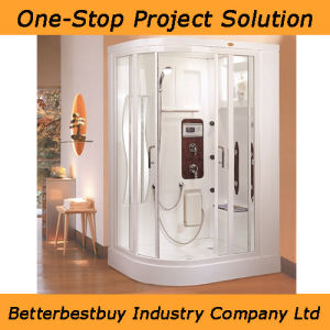 Sanitary Ware Sauna Steamroom/Steam Shower with MP3 pictures & photos