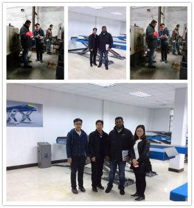 4000kg Saudi Arabia Type in Ground Mounted Car Scissor Lift pictures & photos