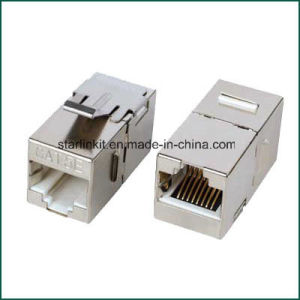 RJ45 RJ45 Cat5e Keystone Jack Network Coupler pictures & photos