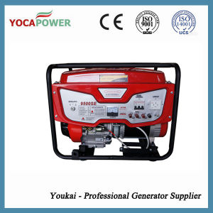 7.5kw Small Open Power Electric Gasoline Generator Set pictures & photos