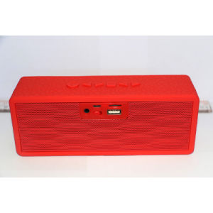 Cube Multi-Function Customized Bluetooth Dual Speaker with TF Card Function pictures & photos