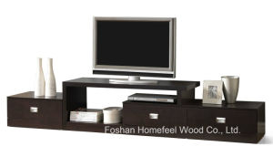 New Modern Entertainment Wooden Living Room TV Stand (TVS15) pictures & photos