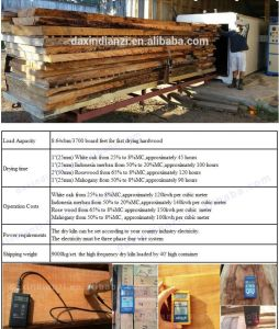 Dx-10.0III-Dx Hf Vacuum Wood Dryer, Wood Furniture Drying Machine From China pictures & photos