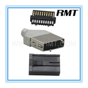 HDMI 19p E Type Male Connector (RMT-160325-008) pictures & photos