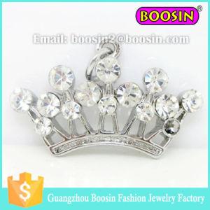 3D Shape Metal Princess Crown Pendant for Bracelet #11935 pictures & photos