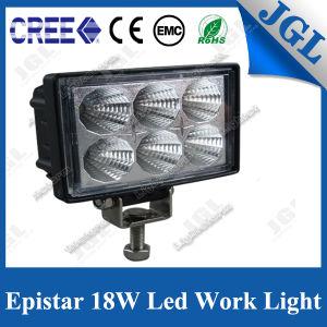 12/24V LED Machine Work Light 18W Spot Work Lamp