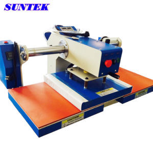 Top and Bottom Heating Plates Double Stations Heat Press (STM-P02D) pictures & photos
