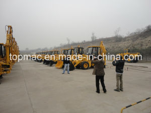 High Quality Cheap Price Topmac 4WD Backhoe Loader pictures & photos