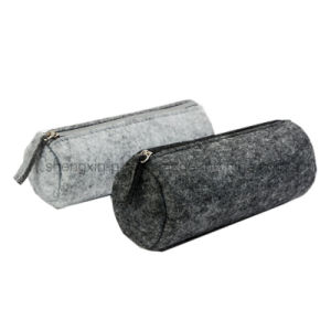 Simple Felt Pencil Bag in Different Style pictures & photos