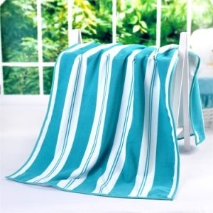 Bochang Customized Color Jacquard Microfiber Bath Towel