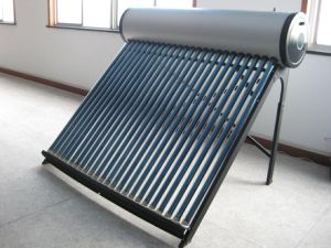 24 Tube Evacuated Tube Solar Water Heater System pictures & photos