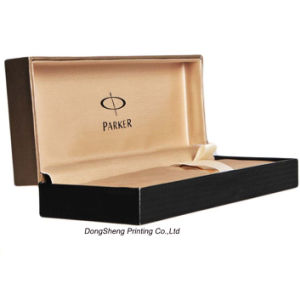 Luxury Paper Gift Packaging Box with Velvet Insert for Pen pictures & photos