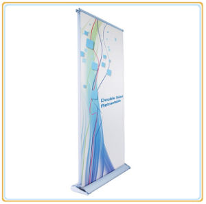 Double-Sided Retractable Roll up Banner Stand Pop up Display Stand pictures & photos
