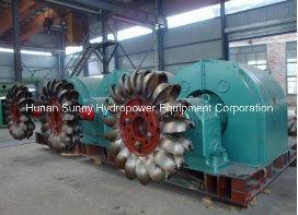 Hydorpower Pelton Turbine-Generator Sf-2000 High Voltage / Water Power Alternator/Hydro (Water) Turbine pictures & photos
