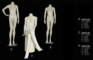 White Female Mannequins for Window Display, Dummy pictures & photos
