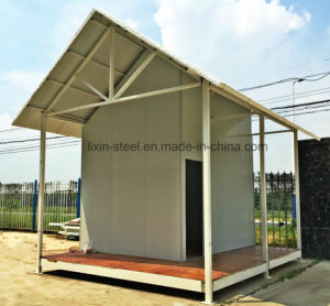 Small Low Cost Prefabricated House for Victims and Poor People pictures & photos