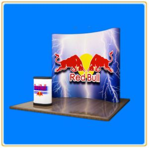 Stylish Portable PVC Pop up Free Standing Display Stand (8FT) pictures & photos