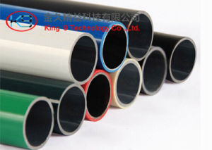 Plastic Coated Pipe for Flow Pipe Rack pictures & photos