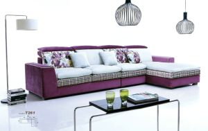 Cotton Fabric Sofa Corner Sofa pictures & photos