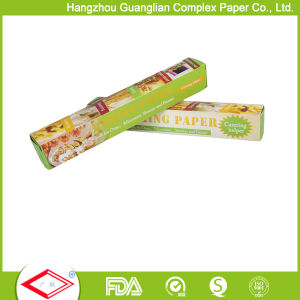 Custom Non Stick Silicone Rolled Parchment Paper for Retail Shops pictures & photos