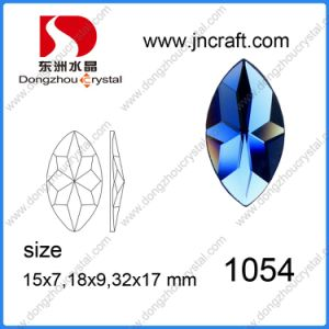 Boat Flower Faceted Sew on Stones in Rhinestone for Garment Ornament pictures & photos