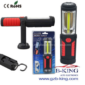 New Rechargeable LED Working Lamp with Hook and Magnet USB pictures & photos